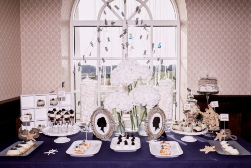 Stilizuoti desertų stalai